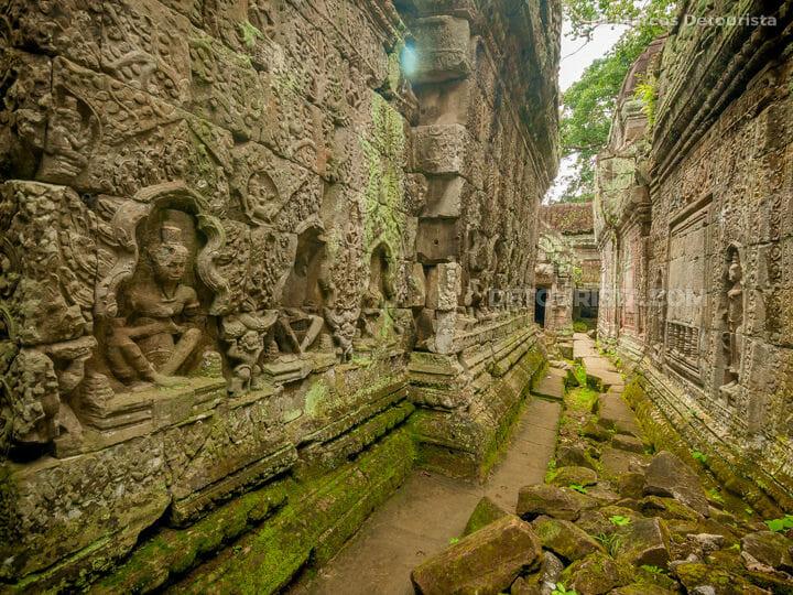 Preah Khan (temple), in Angkor, Siem Reap, Cambodia
