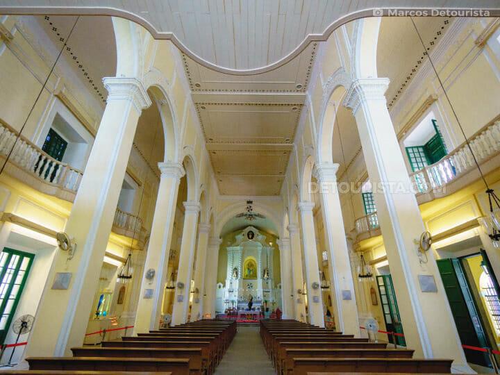 St Dominic Church in Macau, China