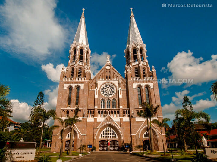 St. Mary's Cathedral in Yangon, Myanmar