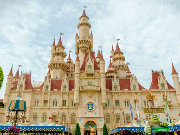 Universal Studios Singapore - Far Far Away Castle