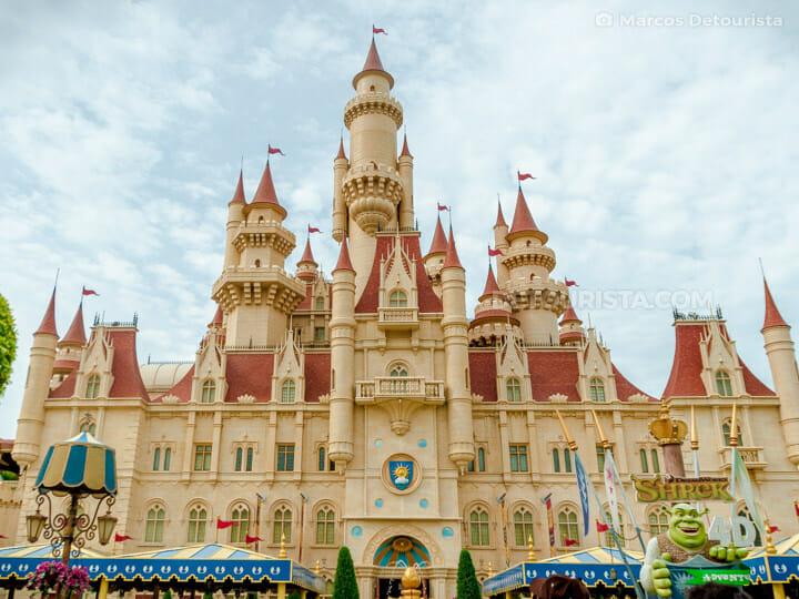 Universal Studios Singapore - Far Far Away Castle in Sentosa Island, Singapore