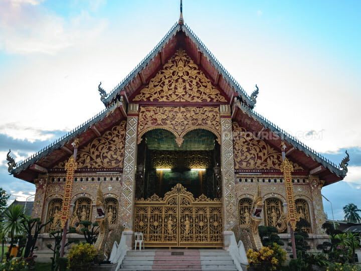 Wat Jed Yod in Chiang Rai, Thailand