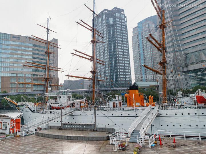 Yokohama Port Museum in Yokohama, Japan