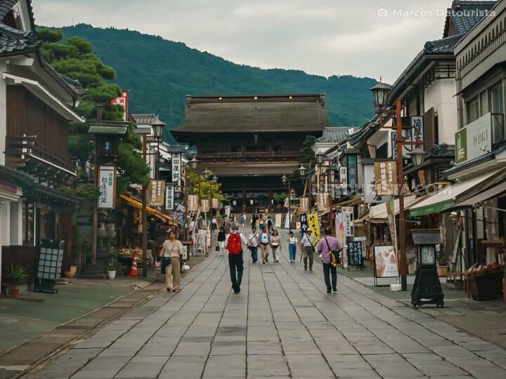 Zenkō-ji Temple in Nagano City, Japan