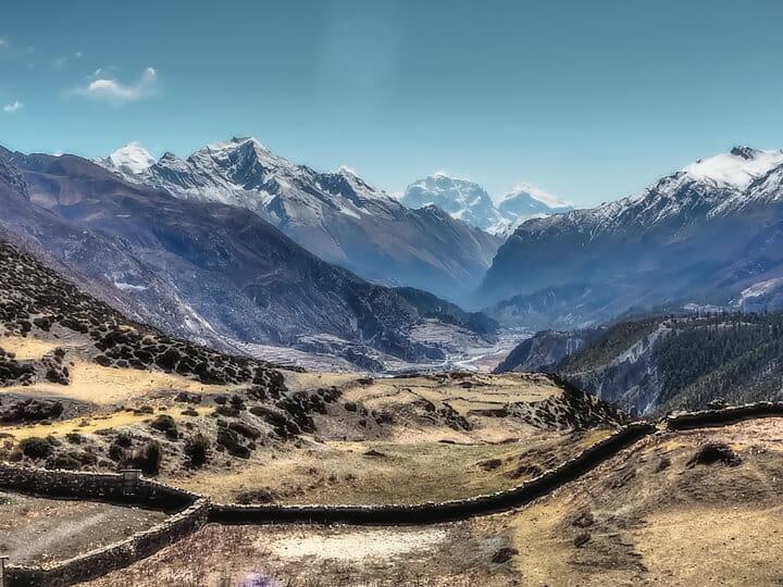 Annapurna Circuit trek, near Pokhara