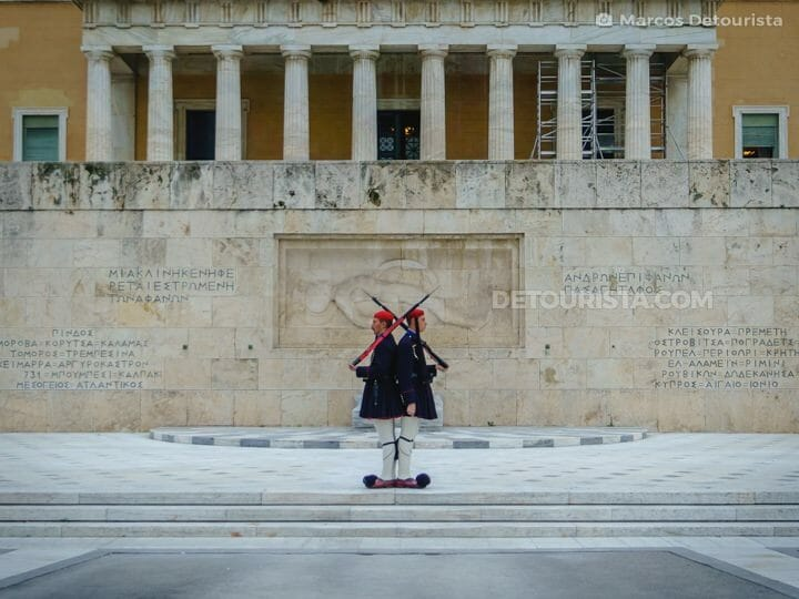 Athens Changing of the Guards