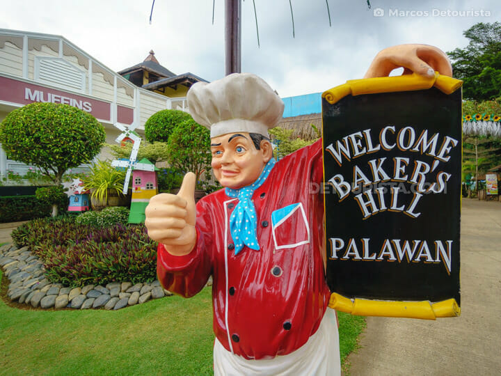 Baker's Hill in Puerto Princesa City, Palawan, Philippines