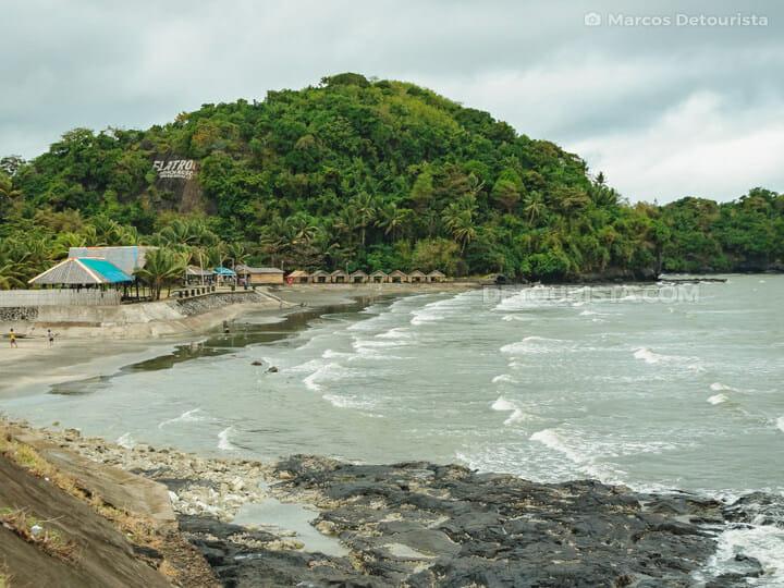 Flat Rock Beach, Roxas City, Capiz