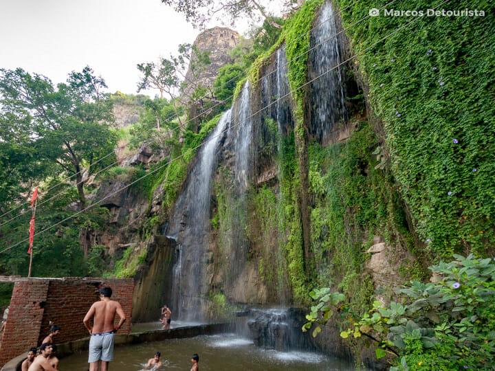 Gaumukh Waterfall, Chittorgarh Fort