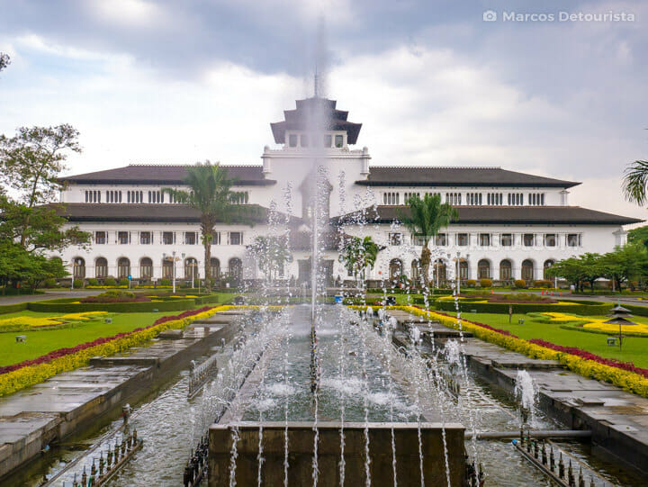Gedung Sate (building) in Bandung, Indonesia