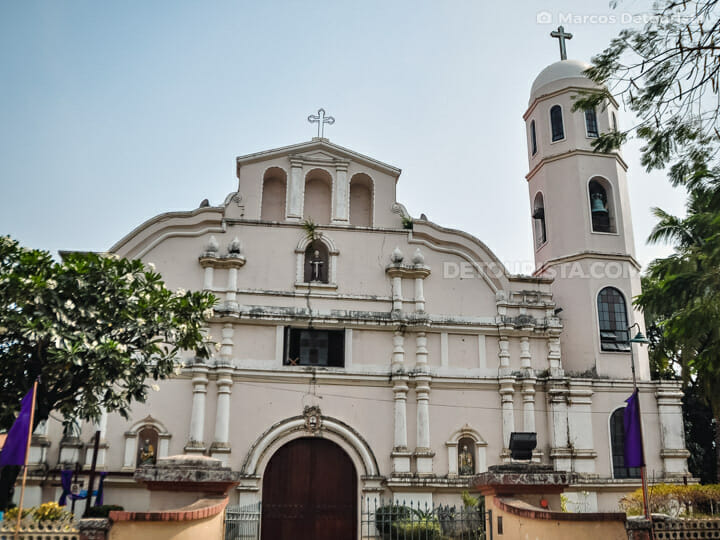 Iba Cathedral (St. Augustine Parish Church) in Zambales, Philippines