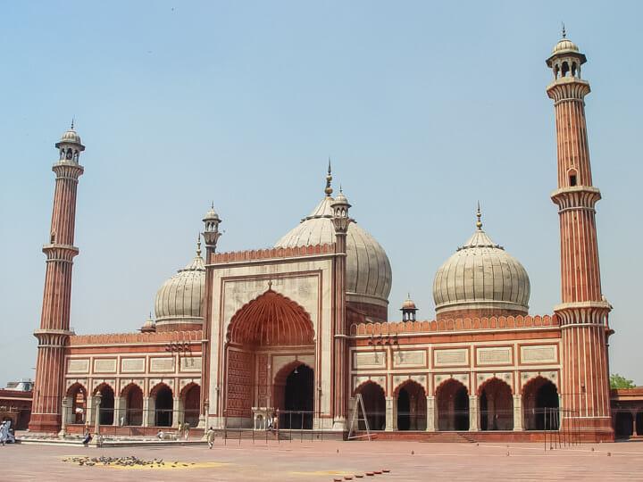 Jama Masjid in New Delhi, India