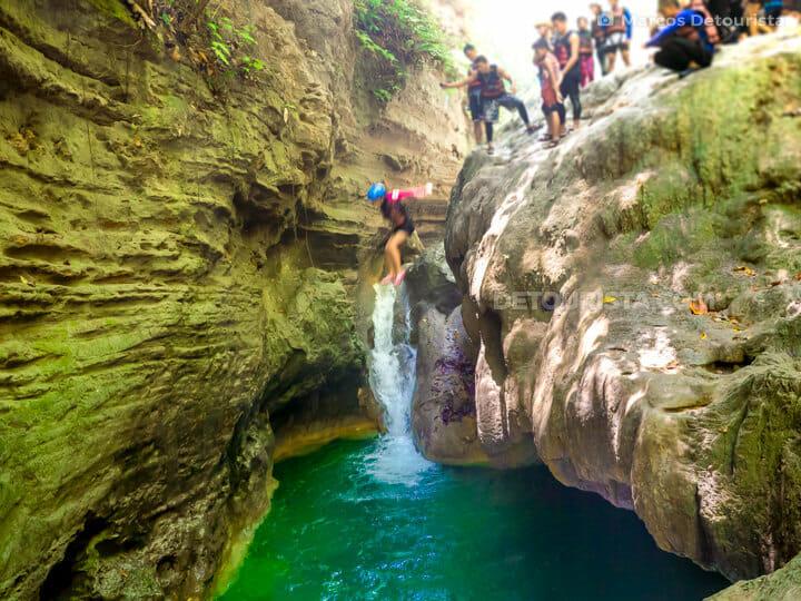 Kawasan-Badian Canyoneering in Cebu