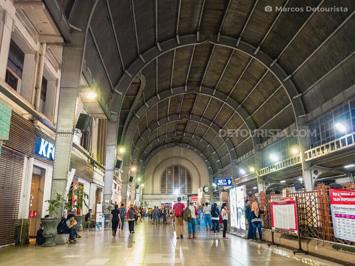 Kota Train Station in Old Batavia (Kota Tua), Jakarta, Indonesia