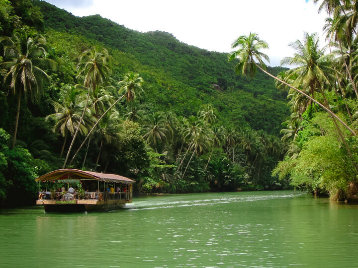 Loboc River Cruise in Bohol, Philippines