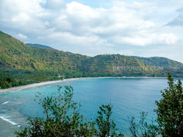 Lombok beach coast