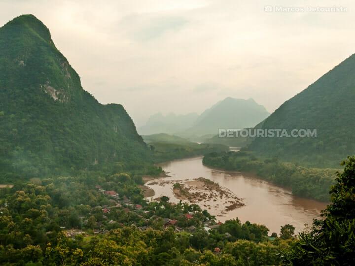 Muang Ngoi Neua Viewpoint, Laos