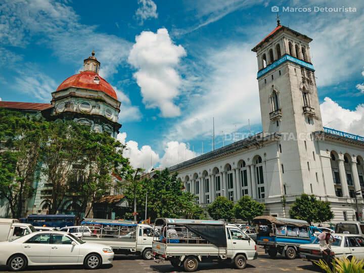 Myanmar Port Authority in Yangon, Myanmar