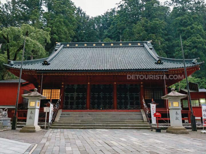 Nikko Futarasan Shrine in Nikko, Japan
