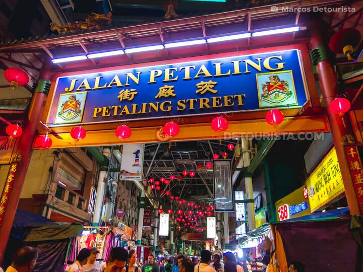 Petaling Street (Chinatown) in Kuala Lumpur, Malaysia