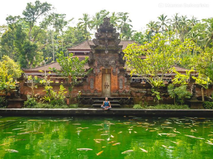 Pura Tirta Empul temple, Tampaksiring near Ubud, Bali, Indonesia
