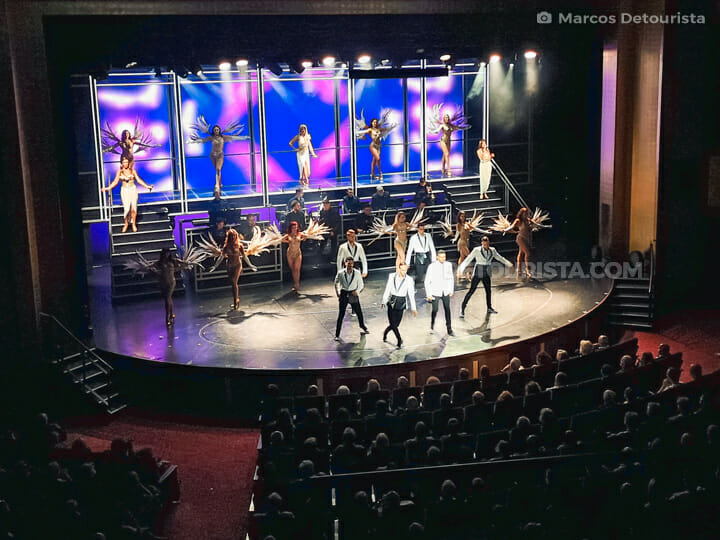 Royal Theater show - Quantum of the Seas by Royal Caribbean