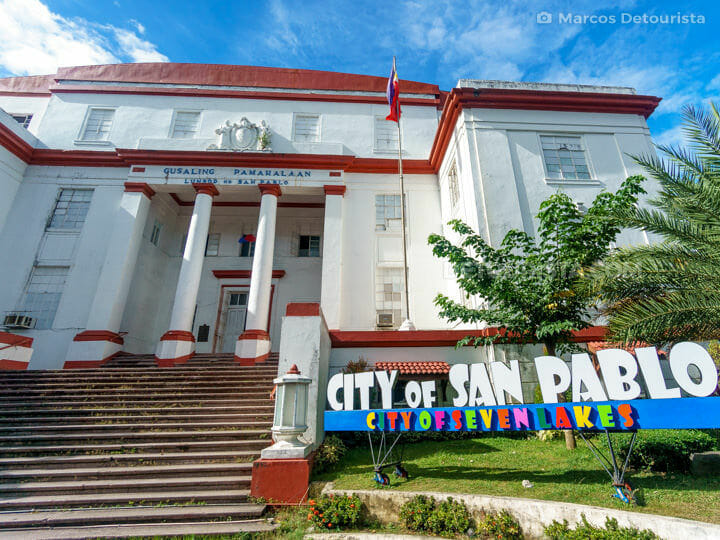 San Pablo City Hall, Laguna