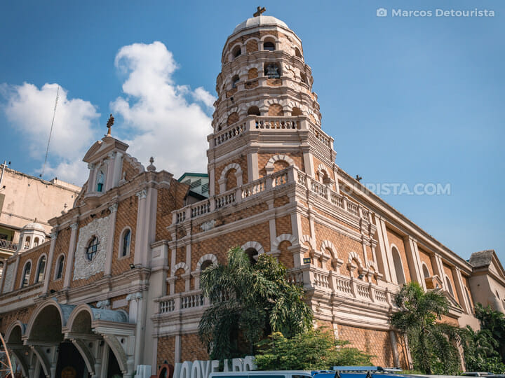 Santa Cruz Church, Binondo (Manila Chinatown)