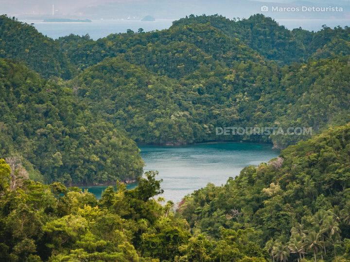 Sohoton Lagoons near Siargao Island