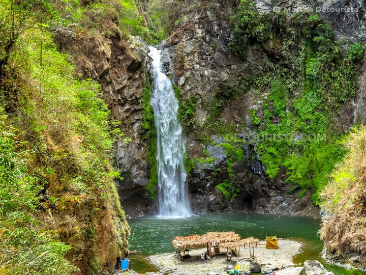 Tappiya Falls near Batad Rice Terraces in Banaue, Ifugao, Philip