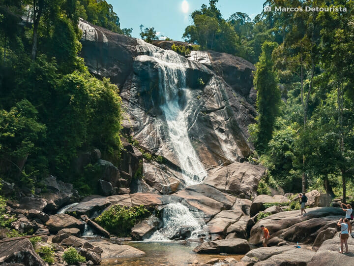 Telaga Tujuh Waterfalls, Langkawi