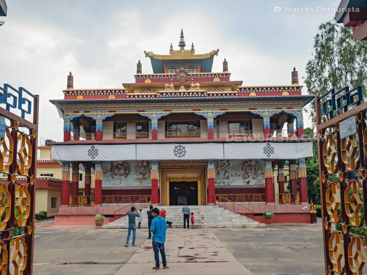 Tibetan Temple (Karma Tharjay Chokhorling), Bodghaya
