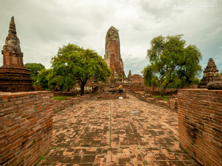 Wat Phra Ram in Ayutthaya, Thailand