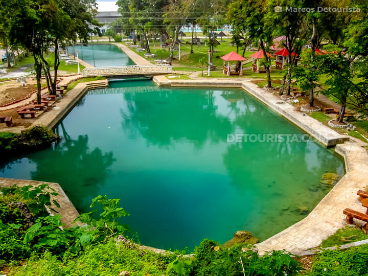 Capilay Spring Park in San Juan, Siquijor, Philippines