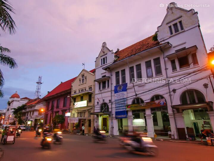 Dutch-colonial buildings
