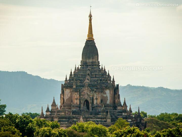 Gawdawpalin viewed from Shwegugyi Temple