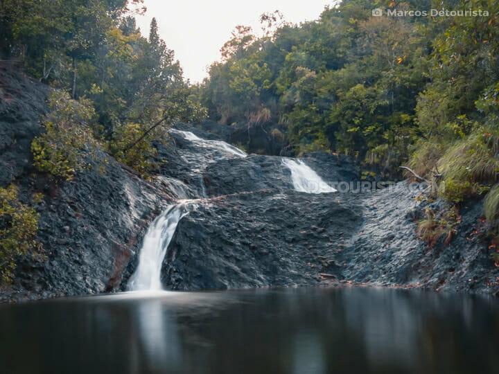 Jawili Falls in Tangalan, Aklan, Philippines