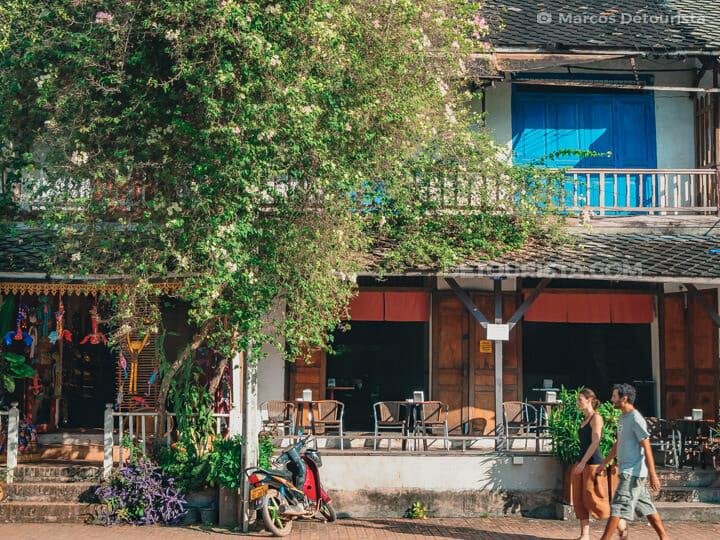 Luang Prabang old town shophouses, Laos