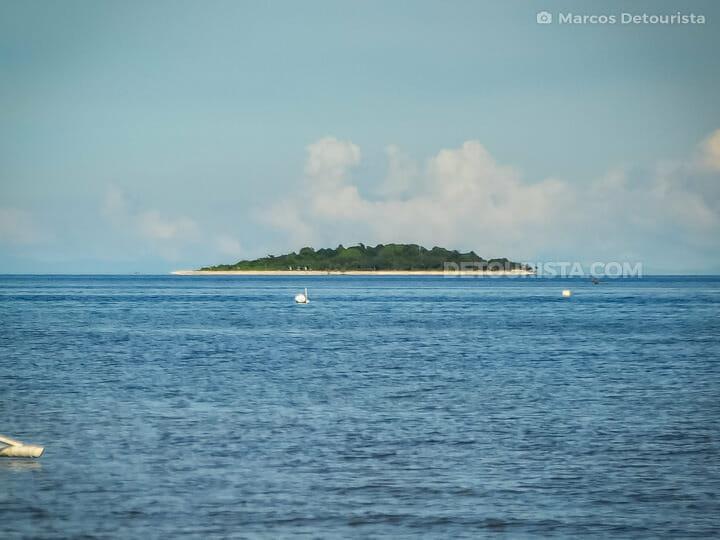 Mantigue Island in Camiguin, Philippines