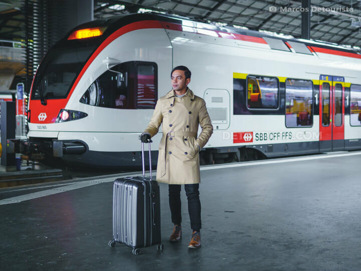 Marcos at Zurich train station