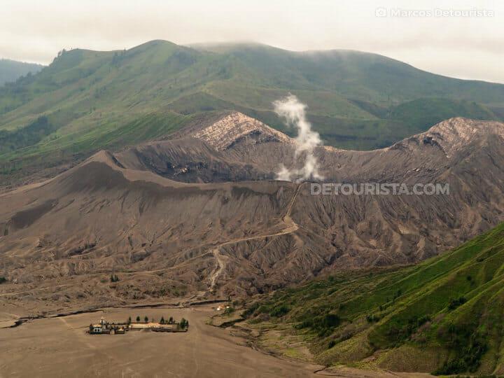 Mount Bromo (volcano) in East Java, Indonesia