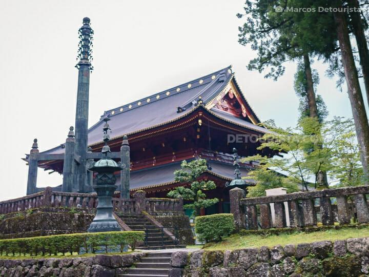 Nikkozan Rinnoji Temple in Nikko, Japan