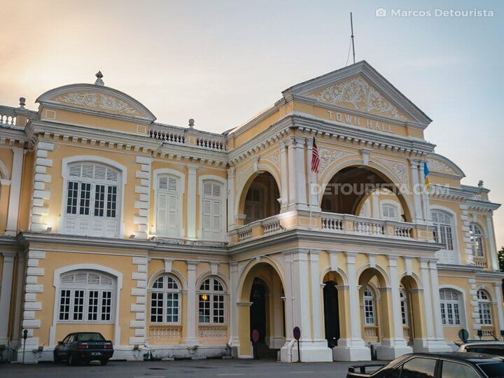 Old Penang Town Hall, Georgetown