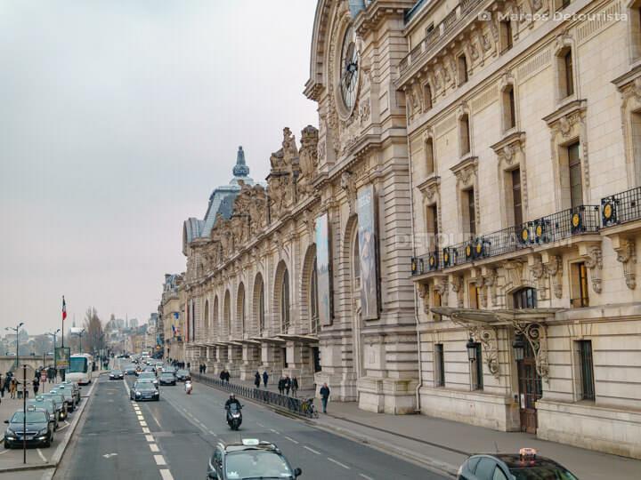 Orsay Mueum (Musée d'Orsay), in Paris, France
