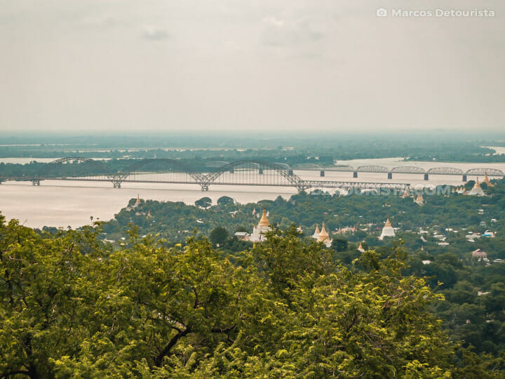 Pon Nya Shin Pagoda, Sagaing
