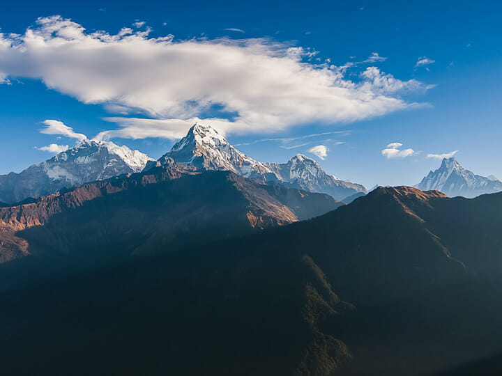 Poon Hill view, near Pokhara