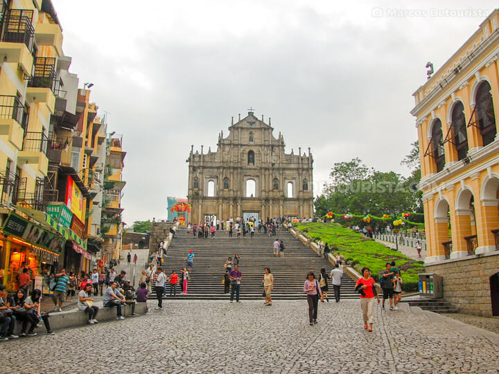 Ruins of Saint Paul Cathedral in Macau
