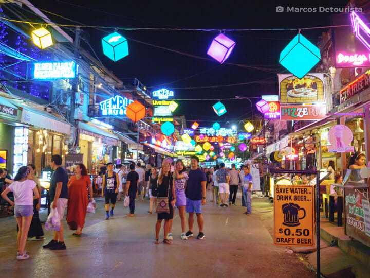 Siem Reap-Pub Street, Cambodia