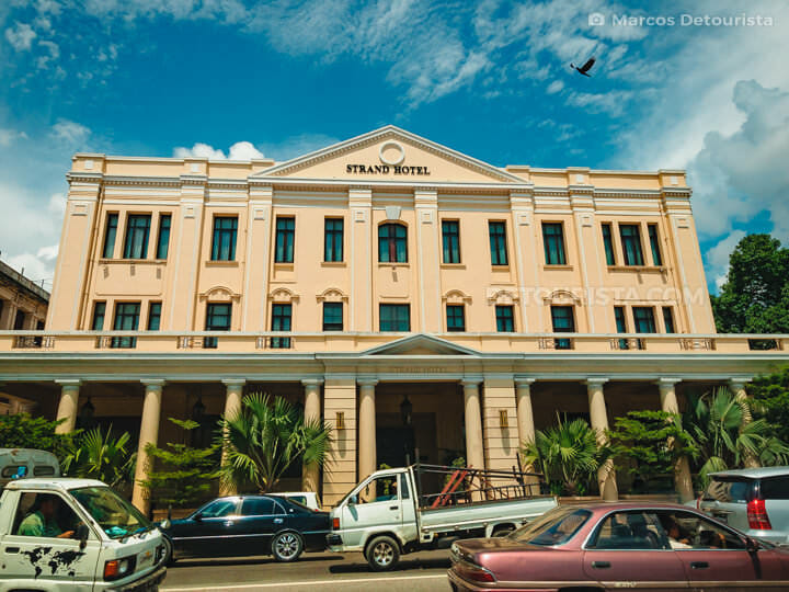 Strand Hotel in Yangon, Myanmar
