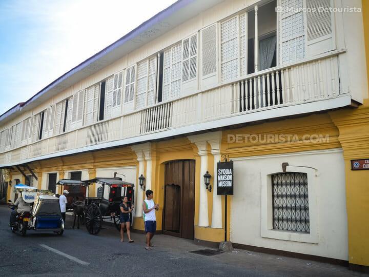 Syquia Mansion in Vigan, Ilocos Sur, Philippines